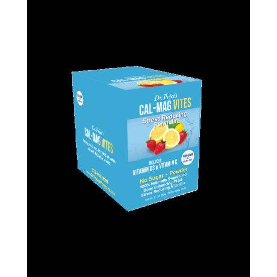 Cal-Mag Vites - Jordbær & Citron (30 Pakker) (Dr. Price) by Vitanord.eu