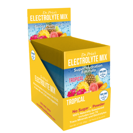 Electrolyte Mix Tropical Flavor (30 packets) (Dr. Price) by Vitanord.eu