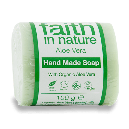 Aloe Vera Soap (100g) (Faith In Nature) by Vitanord.eu