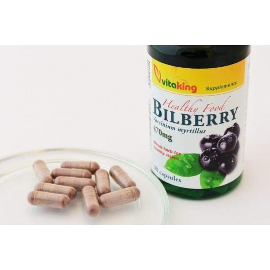 Blåbær 470 mg (90 kapsler) (Vitaking) by Vitanord.eu