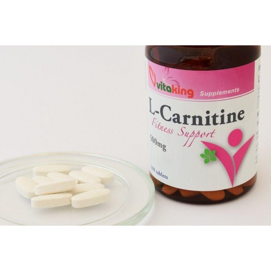 L-Carnitine 500 mg (100 tablets) (Vitaking) by Vitanord.eu