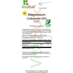 Magnesiumcarbonat 29% Pulver (8 OZ) VitalBulk