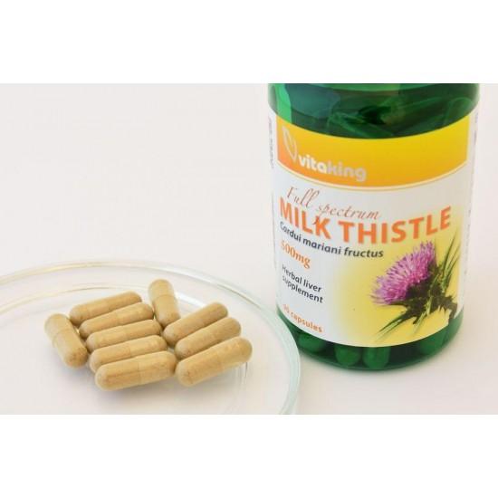Marietidsel Extrakt 500 mg (90 kapsler) (Vitaking) by Vitanord.eu