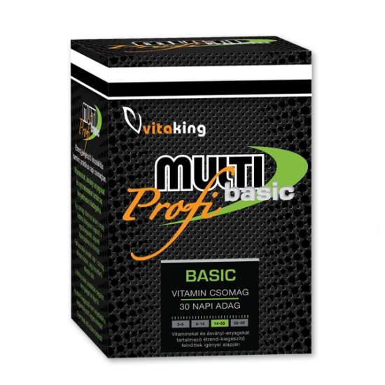 Multi Basic Pro – Daily Vitality Pack (30 Servings) (Vitaking) by Vitanord.eu