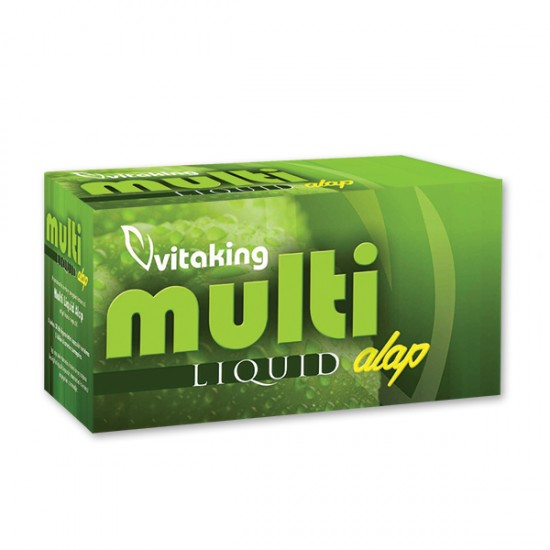Multi Liquid Basic Liquid Multivitamin (30 softgels) (Vitaking) by Vitanord.eu