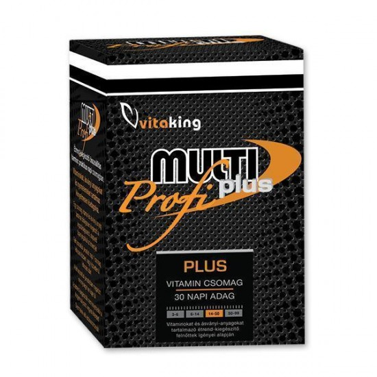 Multi Plus Pro, Daglig vitalitetspakke (30 doser) (Vitaking) by Vitanord.eu