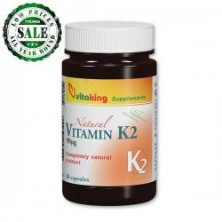 Naturlig Vitamin K2 (30 kapsler)