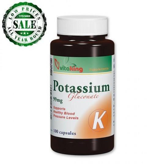 Kalium 99 mg (100 kapsler) (Vitaking) by Vitanord.eu