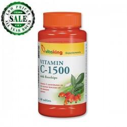 C-vitamin 1500 mg Med Rosehip(60 tabletter)